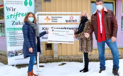 Heinrich-Bußmann-Bildungsstiftung fördert Früherziehung in der Kita Seeparkzwerge